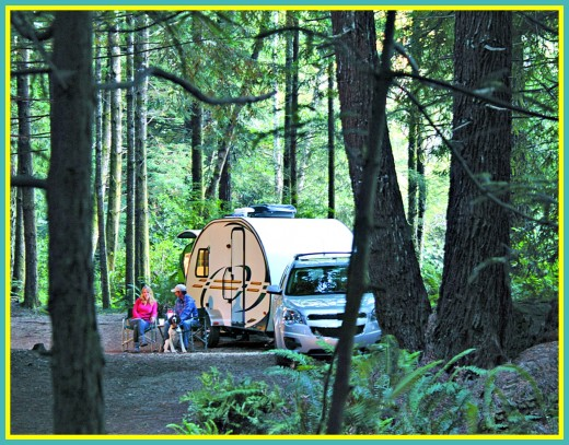 It is much less expensive to own a smaller , more simply made recreational vehicle.
