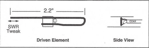This image shows the Driven Element location and shape.