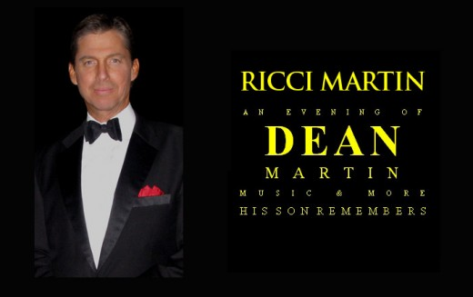 Ricci Martin conducted many shows across the globe, since 2003, as a tribute to his late father and musician Dean Martin