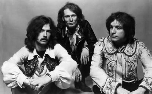 The Cream, from left, Eric Clapton, Ginger Baker and Jack Bruce