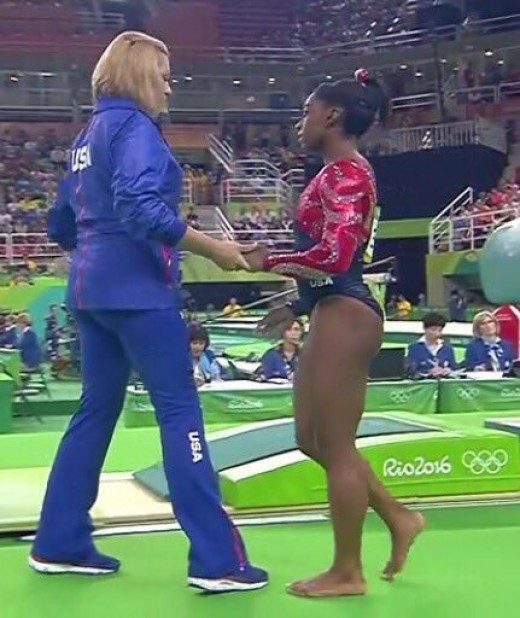 Aimee Boorman has been coaching Simone Biles since she was six years old.