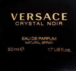 The sweet sexiness of Versace Crystal Noir EDP: fragrance review