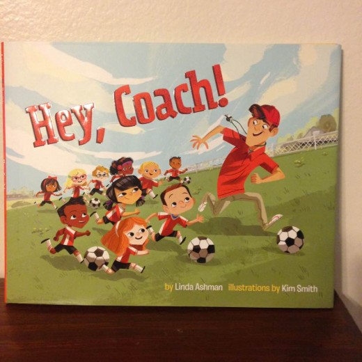 Colorful and fun read aloud picture book captures the fun of soccer