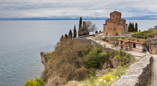 St John Kaneo church, Ohrid, Macedonia
