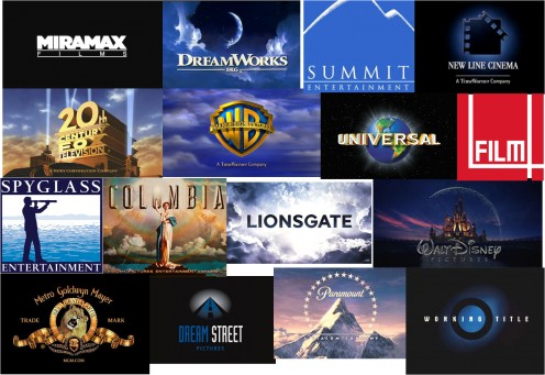 Hollywood Film Production Companies Logo