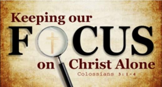 Keep Jesus Christ in Full View!