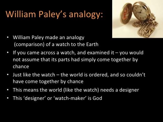 explain paleys argument for the existence of god essay