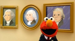 Elmo for President?! Yeah!