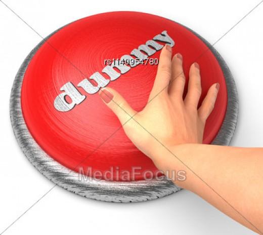 Dummy Button, Not Unlike Eli Drake's Dummy Button