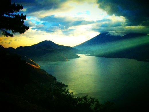 Lake Atitlan in Guatemala is often considered to be among the most beautiful lakes in the world...