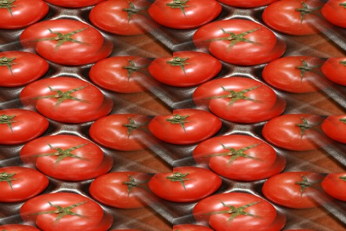 Luscious Red Tomatoes.