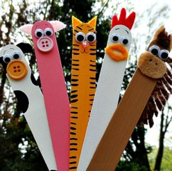 43 Outstanding Craft Stick Craft Ideas