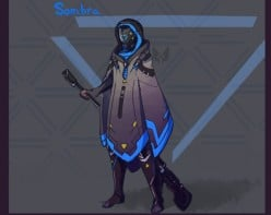 Sombra - The Mystery Overwatch Character