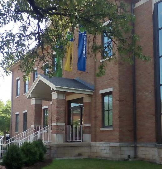 Columbus, IN, Visitors' Center