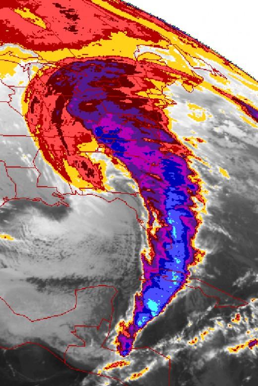 Storm of the Century on Satellite