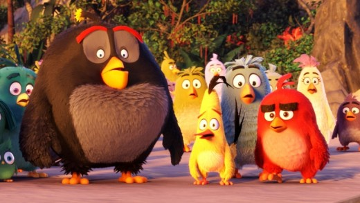 A still from The Angry Birds Movie