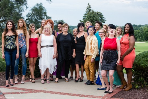 "Realtor Models at ""Fashion for a Cause"""