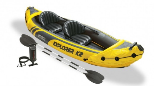 The Intex Explorer K2 Kayak