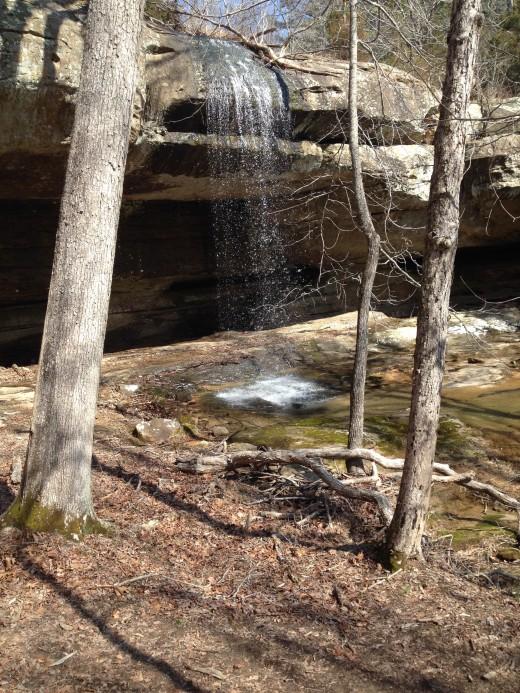 Waterfall on Bay Creek