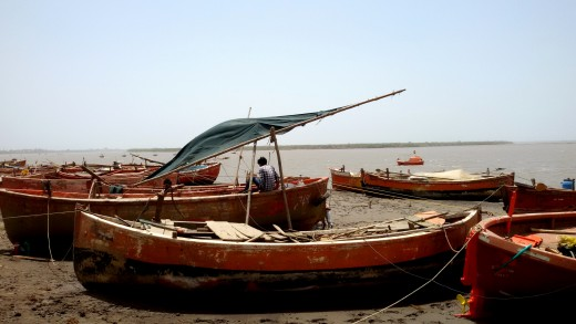 Boats at Bharbhut 2