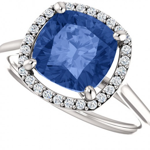 Sapphires are a great way to add a unique touch to your engagement ring.
