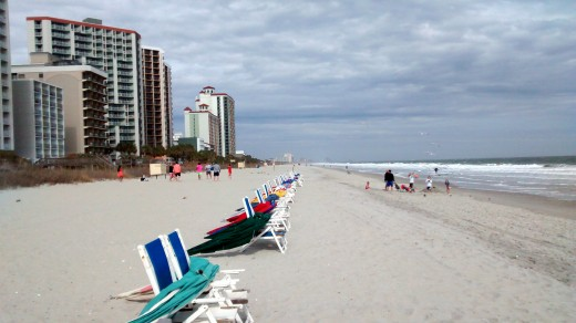 Myrtle Beach is draws visitors even in winter. Credit: © Scott Bateman