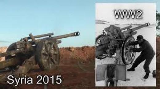 ISIS WW2 artillery