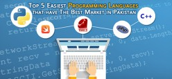 Top 5 Easiest Programming Languages that have the Best Market in Pakistan