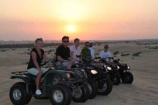 Quad Biking at Desert Safari Abu Dhabi