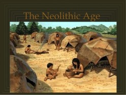 Making of stone tools in the period of Neolithic age