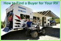 How to Find a Buyer for Your RV