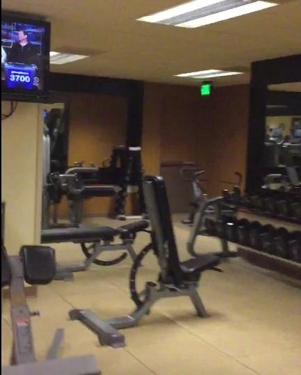The Hilton Union Square Hotel Precor Gym