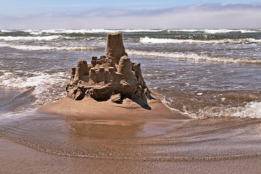 Building a sand castle on the beach can be absolutely addicting. It can make you as enthusiastic as a kid in next-to-no-time.