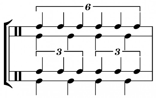 Ensure you get familiar with the rhythmic structure of a piece before beginning to practice the notes.