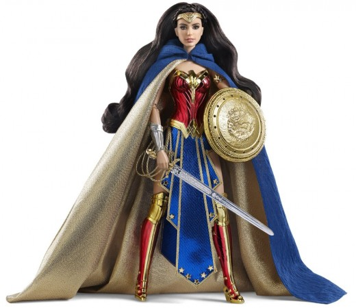 Gal Gadot's Wonder Woman Barbie Comic-Con Exclusive