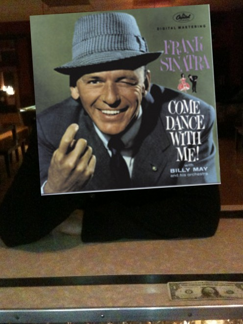 Sinatra and his personable album covers