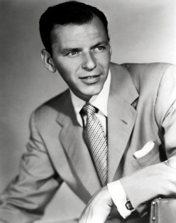 A typical pose for Sinatra in numerous photo shoots