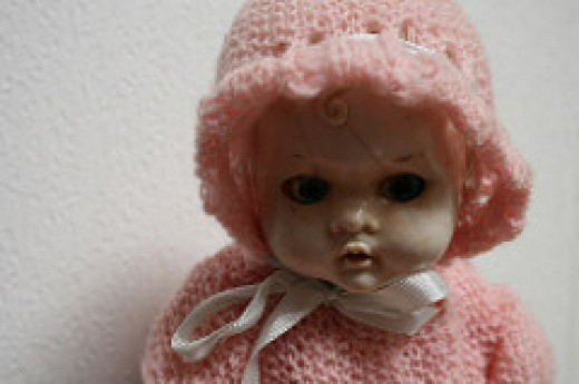 Oh, you shouldn't have! This doll wasn't on the registry. ::shudder::  You REALLY SHOULDN'T HAVE!