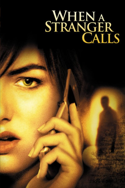 Poster of When a Stranger Calls (2006 remake). Property of Screen Gems and Sony Pictures.
