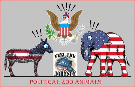 The Political Zoo Animals of Election 2016
