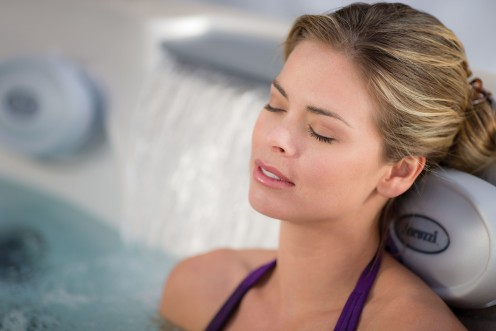 Hot tubs can reduce the stress and tension that have built up throughout the day by relaxing our muscles, joints and helping us sleep better. Plus it is so much fun!