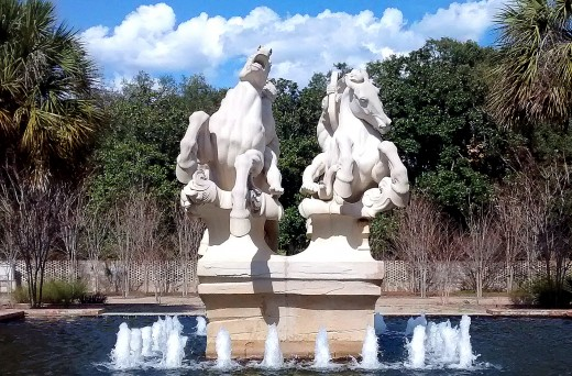 Brookgreen Garden has more than 1,400 sculptures and works of art on 35 acres. Copyright Scott Bateman