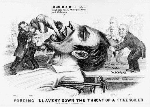 Forcing slavery down the throat of a freesoiler