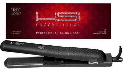 HSI Professional Ceramic Tourmaline Ionic Flat Iron hair straightener