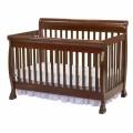 DaVinci Kalani 4-in-1 Convertible Crib with Toddler Rail (Cherry)