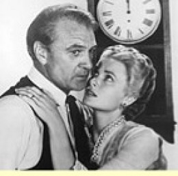 "Gary Cooper, Grace Kelly in ""High Noon"""