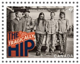 the band was honored on a Canada Post  stamp in 2013