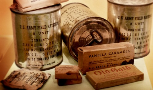 C-rations from World War II