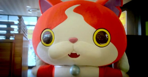 "Jibanyan, the Spirit Cat from Yo-kai Watch. Creative Commons license 3.0 Unported. CC BY 3.0. Photo by: café ""restaurant gust"" (google translated to English) レストラン ガスト"