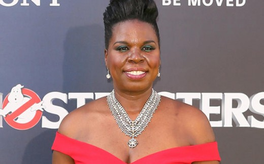 """Leslie Jones at the premiere of her movie """"The Ghostbusters"""""""